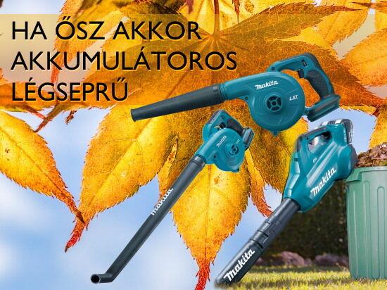Légseprűk az őszi munkához