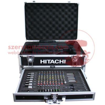 Hitachi Alukoffer + 100 db-os Profi bit/csavarozó készlet (40030026)