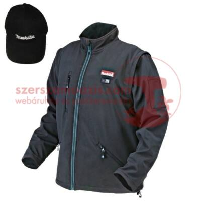Makita CJ100DZL Akkus fűthető kabát L