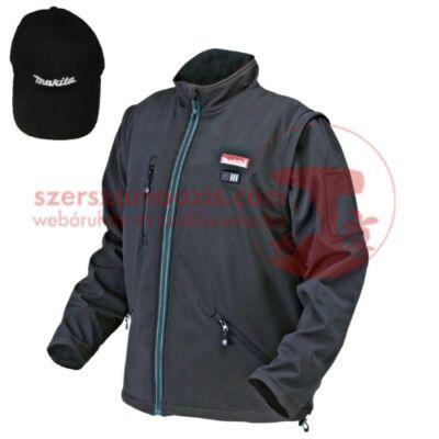 Makita CJ100DZXL Akkus fűthető kabát XL