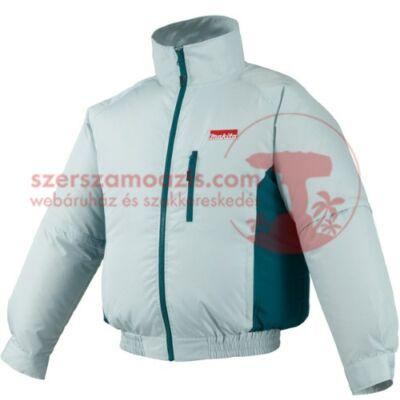 Makita DFJ201ZL Akkus hűthető kabát L