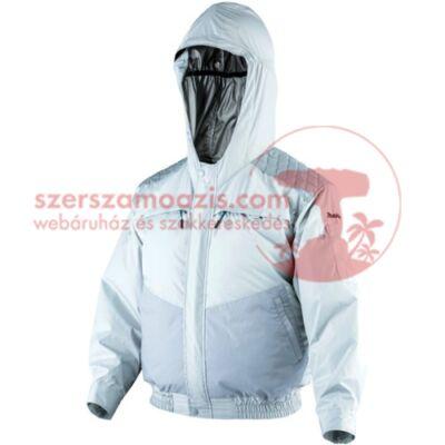 Makita DFJ401ZL Akkus kültéri kapucnis hűthető kabát csiszoláshoz L