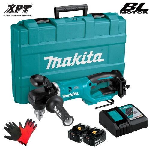Makita DDA450RTE Akkus sarokfúró (18V/2x5.0Ah) kofferben