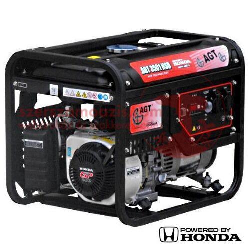 AGT 3501 HSB TTL Áramfejlesztő Honda GX200 motorral 6,5 LE (3,0 kW)