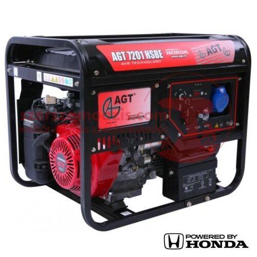 AGT 7201 HSBE TTL Áramfejlesztő Honda GX390 motorral 8,8 LE (6,6 kW)