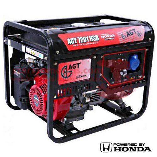 AGT 7201 HSB TTL Áramfejlesztő Honda GX390 motorral 8,8 LE (6,6 kW)