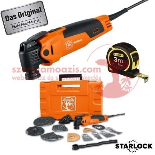 Fein FMM350QSL MultiMaster Starlock Top Edition 41 db tartozékkal