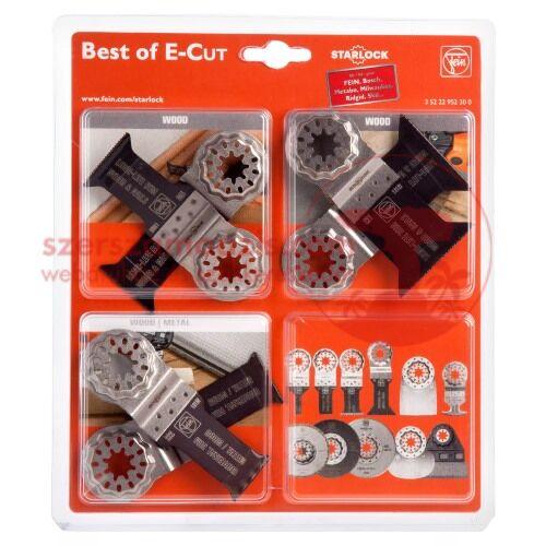 Fein Best of E-Cut Starlock tartozék készlet (3 52 22 952 30 0)