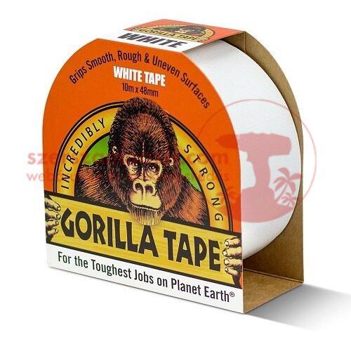 Gorilla Fehér (fehér tape) ragasztószalag 48mm x 10m