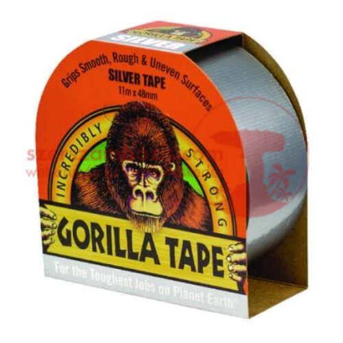 Gorilla Ezüst (silver tape) ragasztószalag 48mm x 11m