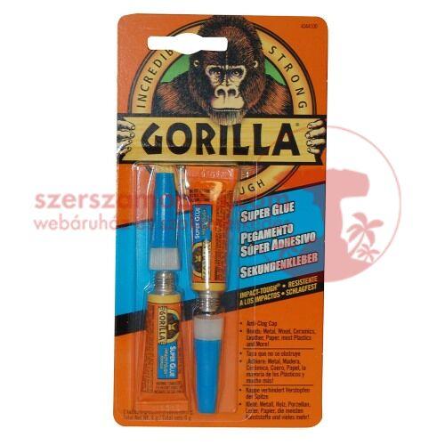 Gorilla extra erős (super glue) pillanatragasztó 2x3g