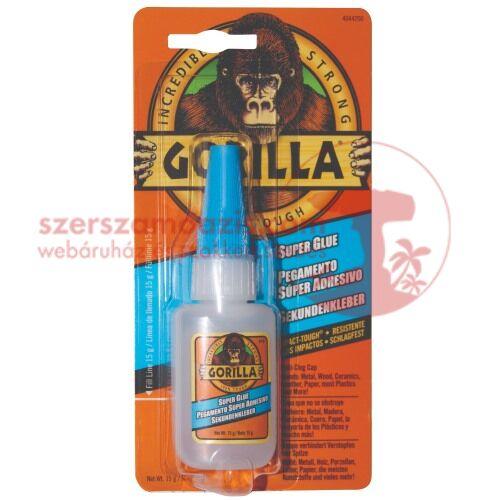 Gorilla extra erős (super glue) pillanatragasztó 15g