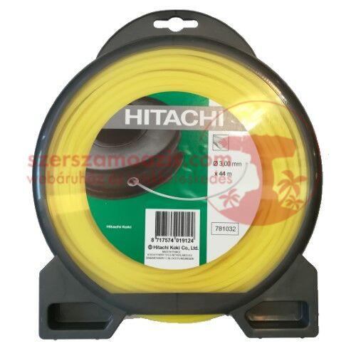 Hitachi (HiKOKI) szögletes damil 3,0mm/44m