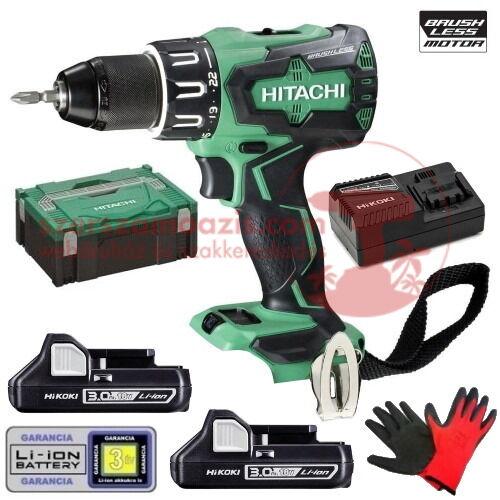 Hitachi (HiKOKI) DV18DBSL-3AH Akkus ütvefúró-csavarbehajtó HITBOX kofferben