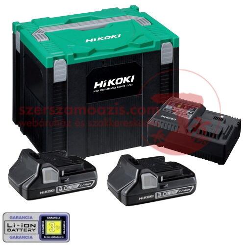 Hitachi (HiKOKI) Akkucsomag 3Ah HITBOX kofferben