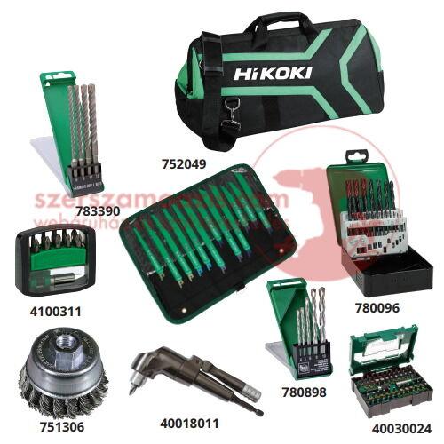 Hitachi (HiKOKI) SuperKit 2 készlet szerelőknek szerszámtáskával