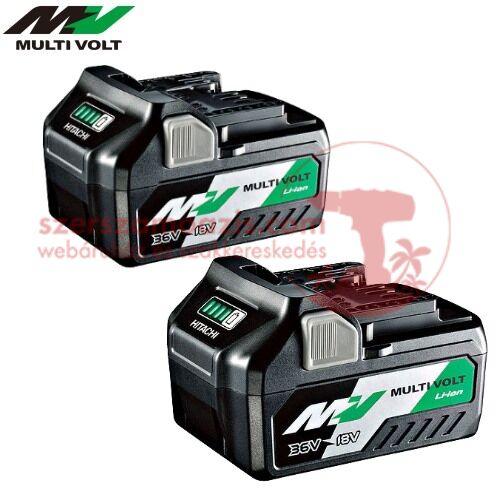 Hitachi 2db BSL36A18 MultiVolt Li-Ion akkumulátor 36V-2.5Ah / 18V-5.0Ah
