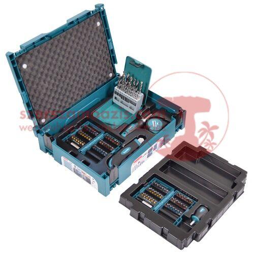 Makita 96 db-os fúró-csavarbehajtó készlet MAKPAC kofferben (B-49725)