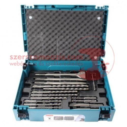 Makita SDS-Plus Fúró-véső készlet 17 db-os MAKPAC kofferben