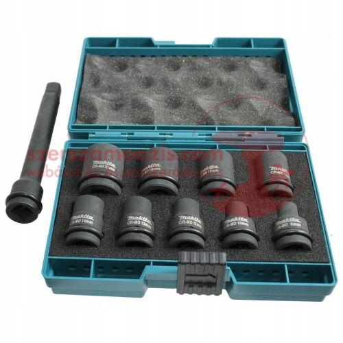 Makita 10 részes gépi dugókulcs készlet