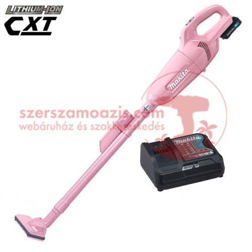 Makita CL108FDSAP Akkus porszívó (10.8V/2.0Ah) rózsaszín - pink