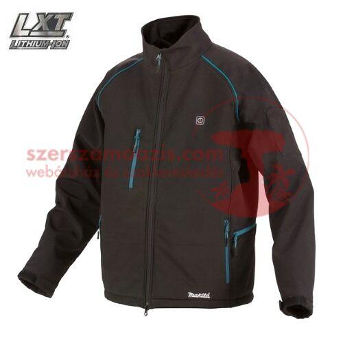 Makita DCJ205ZXL Akkus fűthető kabát 18V LXT XL (akku és töltő nélkül)