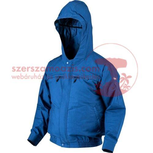 Makita DFJ300ZM Akkus kapucnis hűthető kabát csiszoláshoz M