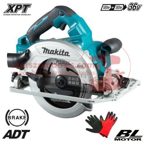 Makita DHS782Z Akkus körfűrész 2x18V (akku és töltő nélkül)