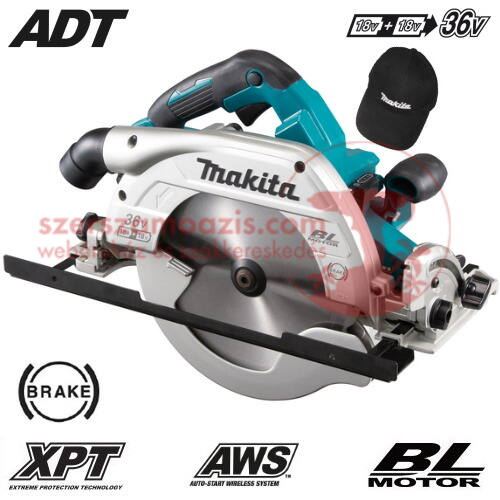 Makita DHS900Z akkumulátoros körfűrész 36 V