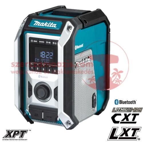 Makita DMR114 Akkus rádió Bluetooth 2