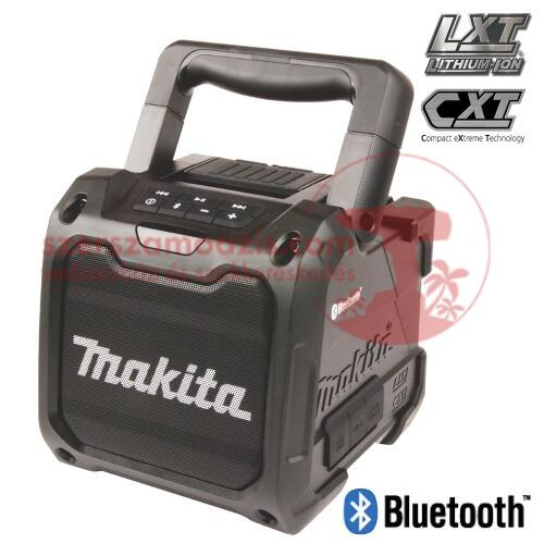 Makita DMR200B Akkus hangszóró fekete (Bluetooth)