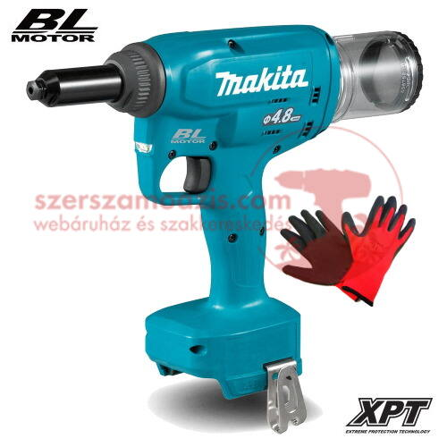 Makita DRV150Z akkus popszegecshúzó 2,4 - 4,8 mm