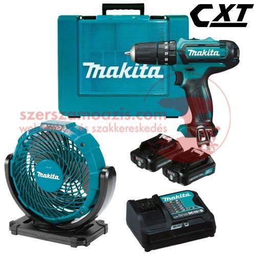 Makita HP331DSAE+CF100DZ Akkus szett