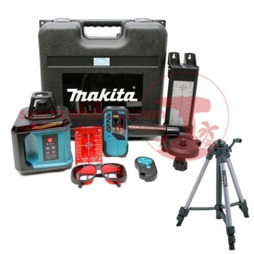 Makita SKR200Z Önbeálló forgófejes szintező lézer + Makita lézer állvány 1400-2700mm