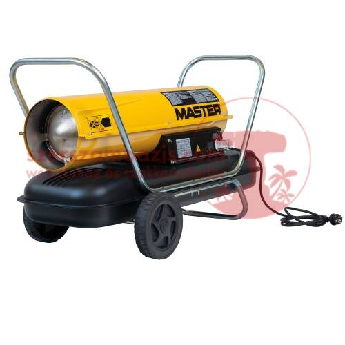 Master B150 CED Gázolajos hőlégfúvó szállítókocsival