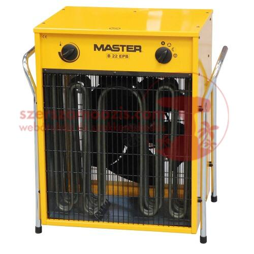 Master B22 EPB Ipari elektromos hőlégfúvó