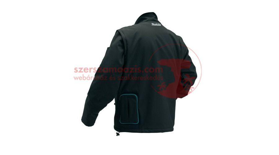 Makita CJ102DZ2XL Akkus fűthető kabát 10.8V CXT 2XL (akku és töltő ... d340eb07e3